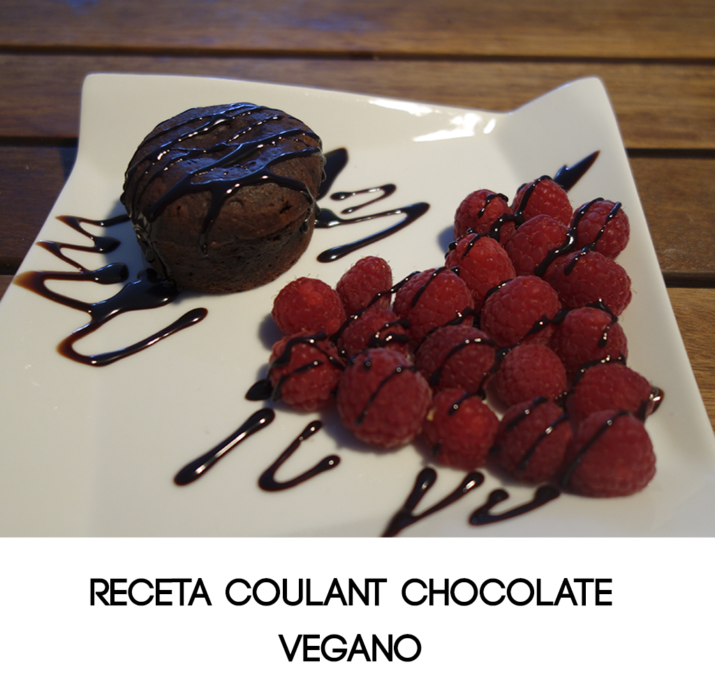 coulant postre chocolate