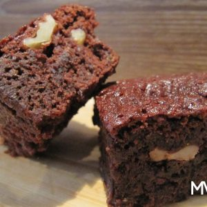 BROWNIE DE CHOCOLATE VEGANO