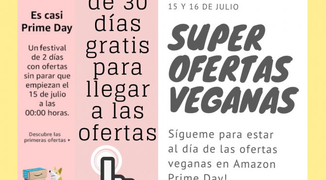 Amazon Prime Day vegano 2019